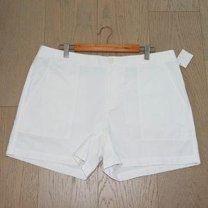 Nordstrom Signature White Shorts 16